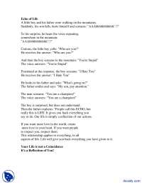 Echo of Life-Communication Skills-Lecutre Handouts.Text.Marked.Image.Marked