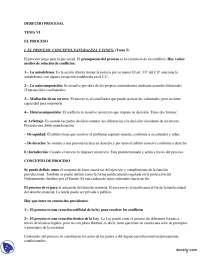 El Proceso Laboral en España - Derecho Procesal Español - Apuntes, Apuntes de Derecho Procesal Español