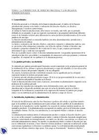 Jurisdicción, legislación y administración - Derecho Procesal I - Apuntes - Profesora Mariscal de Gante - Parte 1