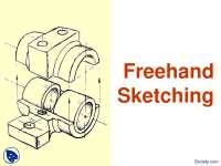 Freehand Sketching-Computer Aided Engineering Design-Handout