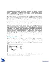 Introduction to Simulink-Modeling and Simulation-Lecture Handouts