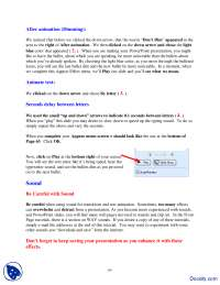 After Animation-Using Powerpoint-Handout