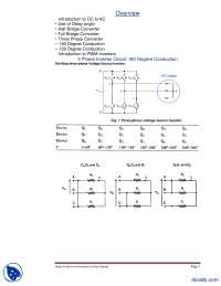 3 Phase Inverter Circuit 180 Degree Conduction-Power Electronics-Lecture Handout