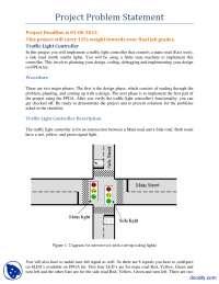 Traffic Light Control-Verilog HDL-Assignment