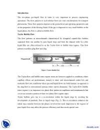 Taylor Bubble Flow-Process Engineering-Lecture Handout