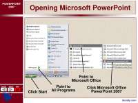 Opening Microsoft PowerPoint-Ms Office-Lecture Slides