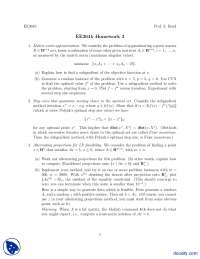 Matrix Norm Approximation, Factorization Caching, Kelley's Cutting Plane Algorithm