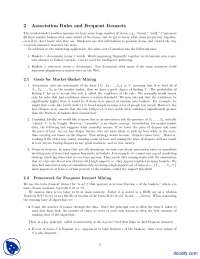 Association Rules and Frequent Itemsets-Mining and Distributed Queries-Lecture Notes