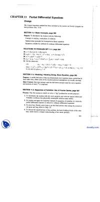 Partial Differential Equations-Differential Equations-Solutions