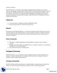 Executive Summary-Basics of Microsoft Word-Assignment Solution