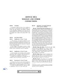 Nozzles and Other Connections-Fiber Reinforced Pressure Vessels-Handout