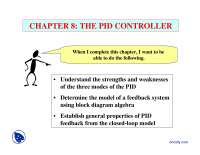 The PID Controller-Process Control-Lecture Slides