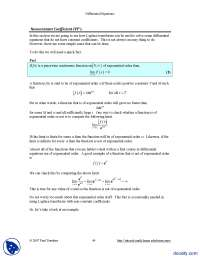 Non Constant Coefficient Initial Value Problems-Differential Equations and Transforms-Handout