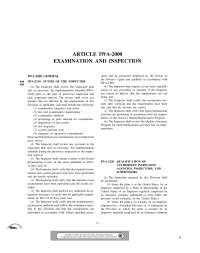Duties of Inspector-High Pressure Vessels and Boilers-Handout
