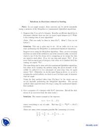 Sorting Exercises-Complexity of Algorithms-Assignment Solution