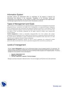 Information System-Introduction to Computing-Handout