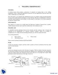 Welding Terminology-Welding-Lecture Handouts-Lectrue Handout