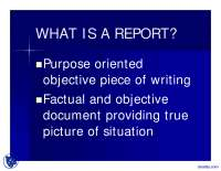 Report Writing-Technical Writing-Lecture Slides