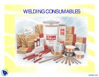 Welding Consumables-Welding-Lectrue Slides