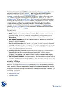 Database Management System-Introduction to Computing-Handout