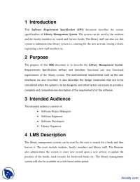 Library Management System-Enterprise Applicatio Development-Lecture Handout