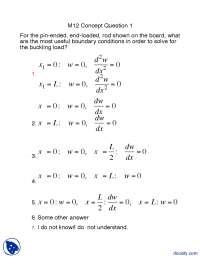 Concept Question Part 14-Structure of Materials-Lecture Handout