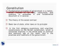 The Constitution-Pakistan Studies-Lecture Slides