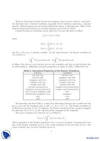 Even Odd Functions-Signal Processing And Analysis-Handout