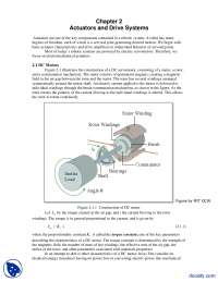 Actuators and Drive Systems-Introduction to Robotics-Lecture Handouts