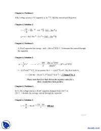 Chapter 06-Electrical Circuit Analysis-Problem Solutions