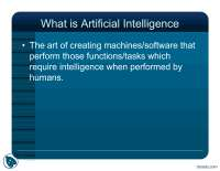 What Is Artificial Intelligence part 1-Artificial Intelligence-Lecture Slides