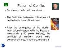 Clash of Civilizations-Pakistan Studies-Lecture Slides