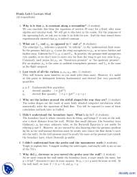 Fluids Lab 1 Lecture Mud-Aeronautical Engineering-Lab Reports And Handouts