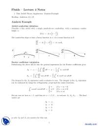 Thin Airfoil Theory Application Analysis Example-Fluid Dynamics and Aerodynamics-Lecture Notes