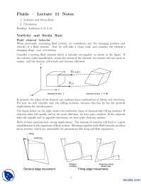 Vorticity and Strain Rate-Fluid Dynamics and Aerodynamics-Lecture Notes