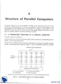 Structure of Parallel Computers-Parallel Processing-Handout
