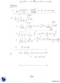 Solution of Midterm, Buck Boost Cuk DC Choppers-Electrical Engineering And Power Electronics-Exam Paper