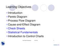 Statistical Process Control-Total Quality Management-Lecture Slides
