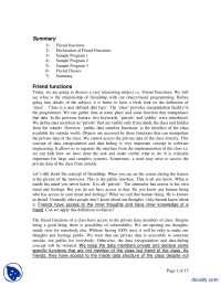 Friend Functions-Programming For Engineers II-Handout