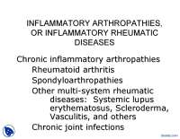 Inflamantory-Pathophysiology-Lecture Slides