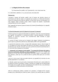 Historia del Derecho 1 (resumen 1er libro, hasta el dominado)