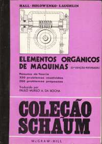 Livro elementos orgânicos de máquinas, Manuais, Projetos, Pesquisas de Engenharia Madeireira