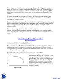 Industrial Electric Motors and Generators-Electric Machines-Lecture Handout