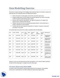 Data Modelling-Bioinformatics-lecture Handout