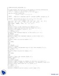 Crank Nicolson Algorithm-Numerical Analysis-MATLAB Code