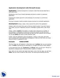 Application Development-Bioinformatics-lecture Handout