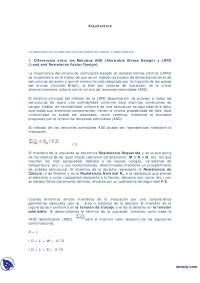 Introducción Al Método De Carga Y Resistencia - Apuntes - Arquitectura