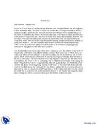 Sorrow Acre-Human Behaviour-Lecture Handout