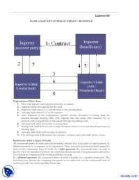 Lesson 35 Flow Chart Of Letter Of Credit Revisited-Banking and Finance-Handout