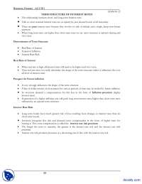 Lesson 22, Structure of Interest Rates-Business Finance-Lecture Notes